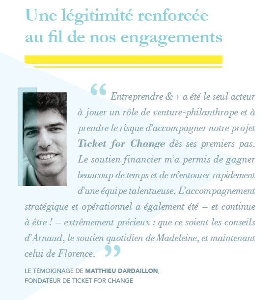 Encouraging tomorrow's social entrepreneurs | Fondation de